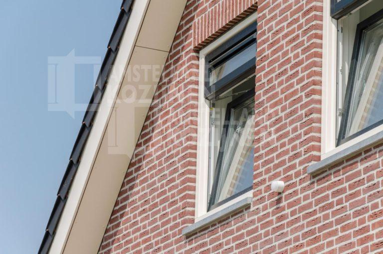 Draaikiepraam met 4 ventilatiestanden