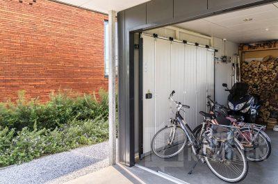 HST garagedeur antraciet