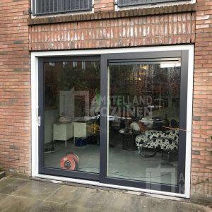 Kunststof schuifpui Amsterdam