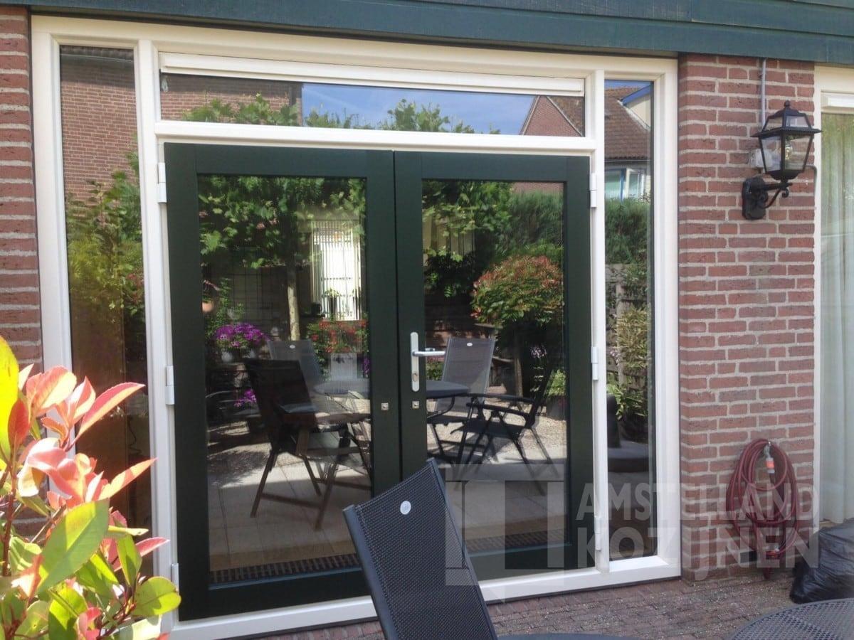 Openslaande Deuren Kunststof : Kunststof tuindeuren ouderkerk aan de amstel amstelland kozijnen