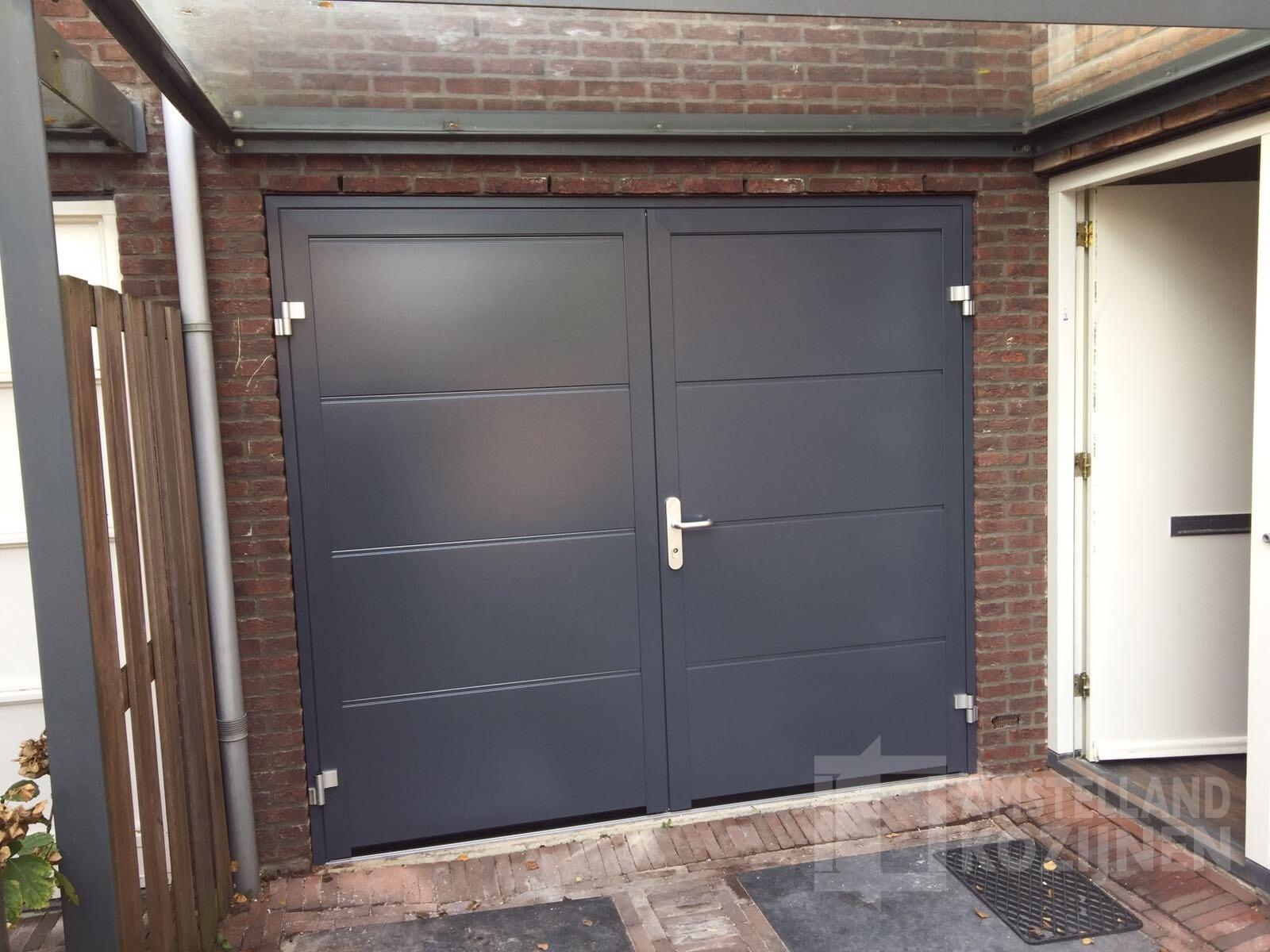 Geliefde Openslaande garagedeuren │Amstelland Kozijnen Amstelveen &NV13